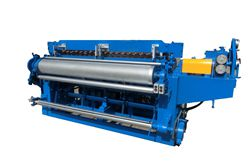 Galvanized welded wire mesh machine